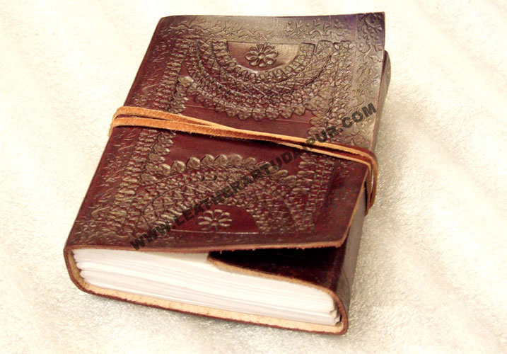 Embossed-Leather-Book