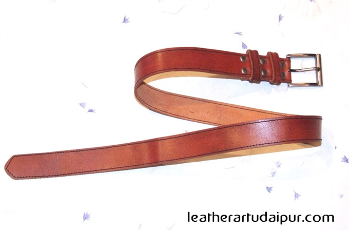 Leather Belt : Leather Belt